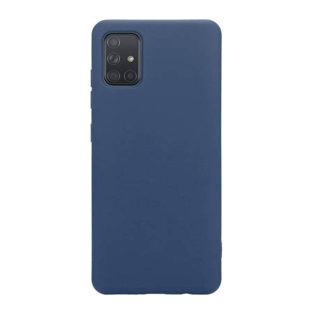 Crong Color Cover - Etui Samsung Galaxy A71 (niebieski)