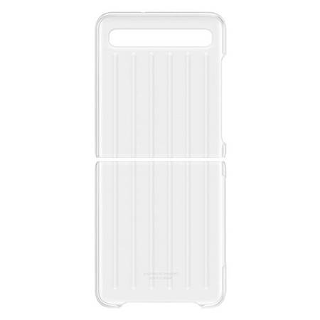 Etui Samsung EF-QF707CT Z Flip F707 Transparent Clear Cover
