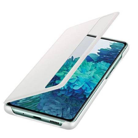 Etui Samsung EF-ZG780CWEGEE S20 FE G780 biały/white Clear View Cover