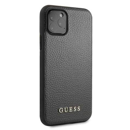 Guess Iridescent - Etui iPhone 11 Pro Max (czarny)