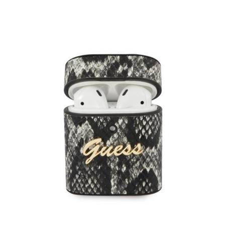 Guess Python Collection - Etui Airpods (czarny)