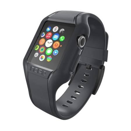 Incipio NGP Strap - Elastyczny pasek do Apple Watch 38mm (przydymiony)