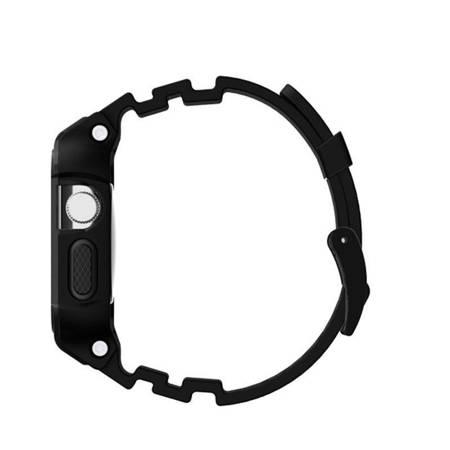 Incipio Octane Strap - Pancerny pasek do Apple Watch 38mm (czarny)