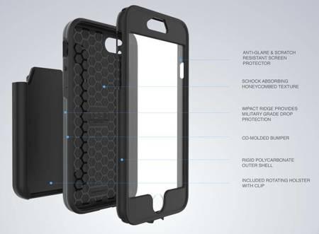 Incipio Performance Series Max - Pancerne etui iPhone 7 (White/Blue)