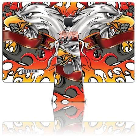 Nexgen Skins - Zestaw skórek na obudowę z efektem 3D iMac 27 (Iron Eagle 3D)