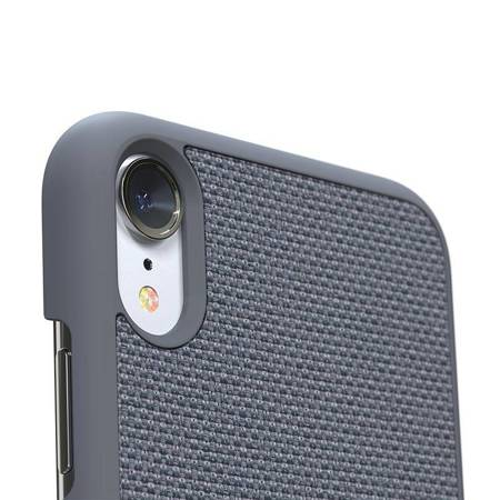 Nordic Elements Original Hel - Drewniane etui iPhone XR (Mid Grey)