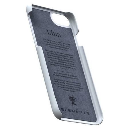 Nordic Elements Original Idun - Materiałowe etui iPhone SE 2020 / 8 / 7 (Light Grey)