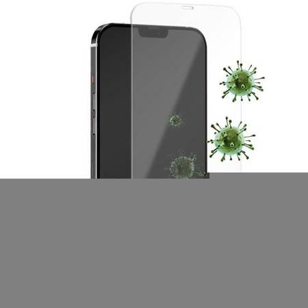 PURO Anti-Bacterial Szkło ochronne hartowane z ochroną antybakteryjną na ekran iPhone 12 Pro Max