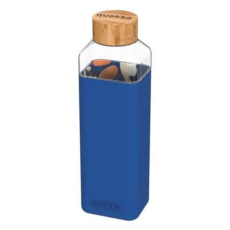 Quokka Storm -  Butelka na wodę ze szkła 700 ml (Inner Abstract Garden)
