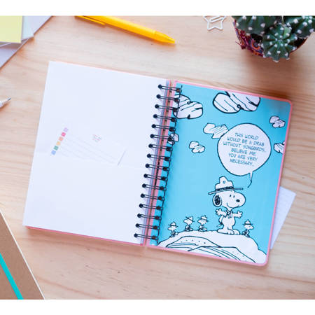 Snoopy - Notatnik kołowy