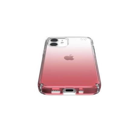 Speck Presidio Perfect-Clear + Ombre -  Etui iPhone 12 Mini z powłoką MICROBAN (Clear/ Vintage Rose)