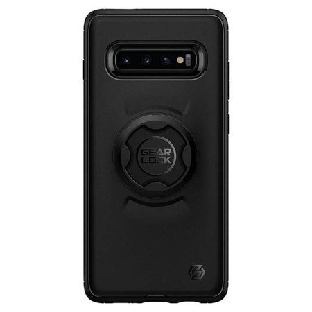 Spigen GearLock Etui Sam G975 S10 Plus CF203 black/czarny 606CS26040 Bike Mount
