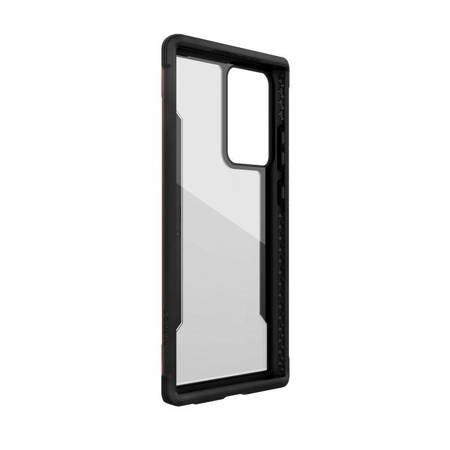 X-Doria Raptic Shield - Etui aluminiowe Samsung Galaxy Note 20 Ultra (Drop test 3m) (Red)