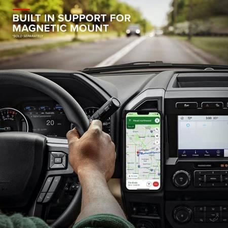 Zizo Bolt Cover - Pancerne etui iPhone 12 / iPhone 12 Pro ze szkłem 9H na ekran + podstawka & uchwyt do paska (czarny)