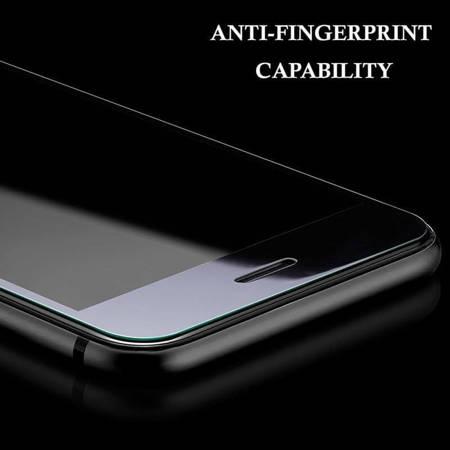 Zizo Full Edge to Edge - Szkło ochronne 9H na cały ekran iPhone 7 Plus (złota ramka)