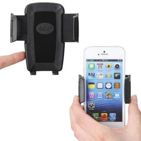 iGrip Universal Charging Dock - Uniwersalny uchwyt do smartfonów o szer. 44 - 84 mm + ładowarka + kabel micro USB + kabel Lightning